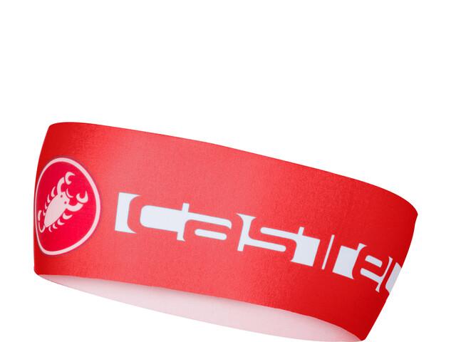 Castelli Viva Thermo Headband red